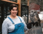 As a wildlife care assistant for the MA Audubon Society